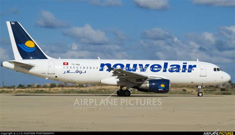 ina section 320 ts ina nouvelair airbus a320 at misrata photo id