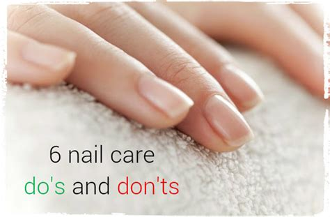 And Nail Care Do And Dont For Healthy cosette s pantry six nail care do s and don ts