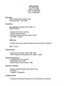 Show Exle Of A Resume by Mr Collings Science Class 2009 Skills