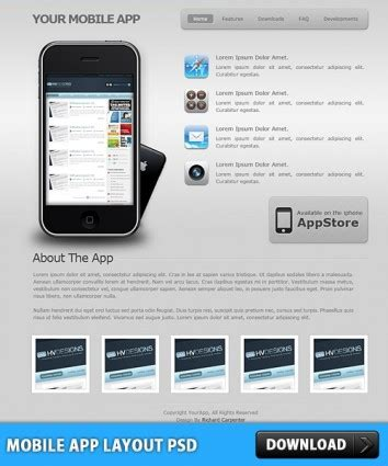 layout app mobile mobile app layout psd free download