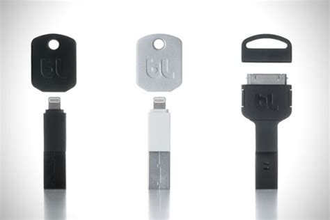 kii lightning cable keychain charger for iphone hiconsumption