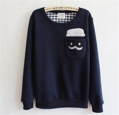 Sweater Dc Shoes 2 Original blue thickened fashion doll sweater on luulla