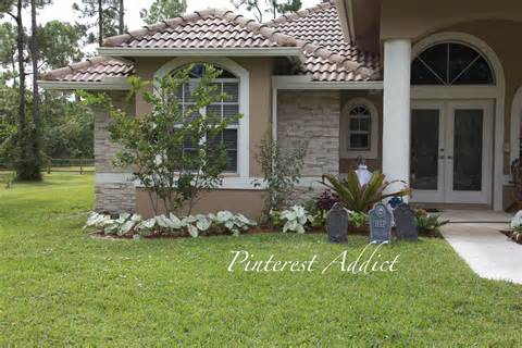 house landscape curb appeal landscaping house front porch garden walkway
