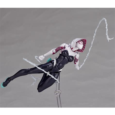 Revoltech Amecomi Amazing Yamaguchi Spidergwen Spider Gwen Official Photos Of Revoltech Spider Gwen Figure The