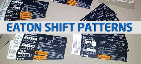 13 Speed Shift Pattern Diagram