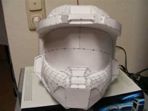 Halo Helmet Papercraft - halo 3 high definition helmet pepakura