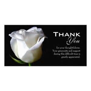 sympathy funeral thank you photo card photo cards photo cards and funeral