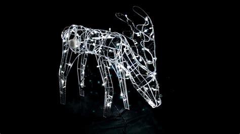 light up reindeer moving 70cm reindeer light decoration with moving