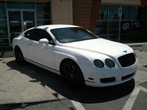 bentley wrapped bentley wrapped in flat white vinyl swat motorsports