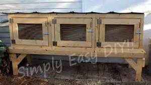 plans to build a rabbit hutch for outside free diy woodworking plans for building a rabbit hutch