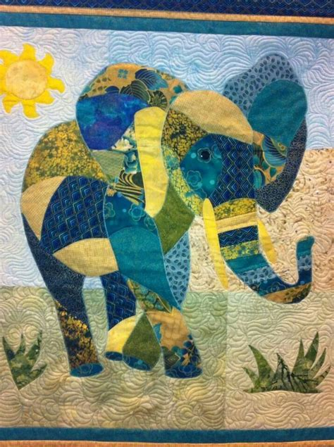 Elephant Quilt Patterns by Elephant Quilt Artsy Fartsy