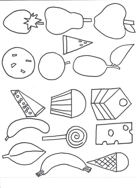 962 best coloring pages images on pinterest art templates for kids best 25 hungry caterpillar craft