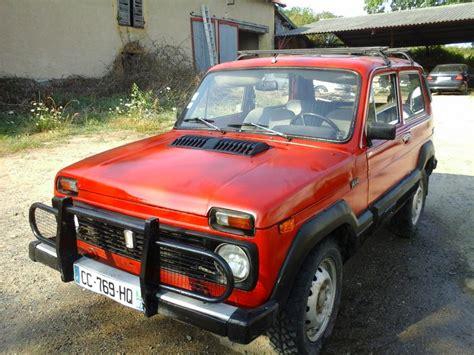 Renault Lada Troc Echange 4x4 Lada Niva 2 1 Diesel Moteur Renault 21