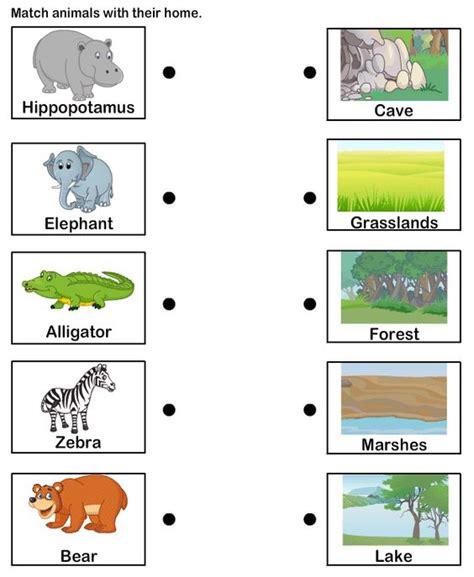 printable worksheets about animal habitats image gallery human and animal habitats