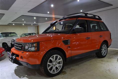 orange range rover sport used orange land rover range rover sport for sale