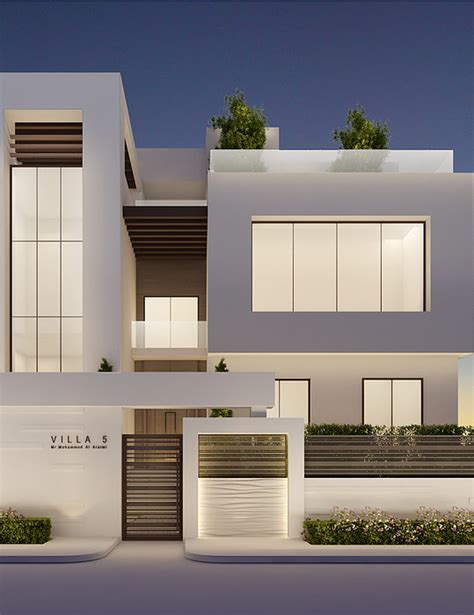 home design interior and exterior modern villa exterior design by ions design