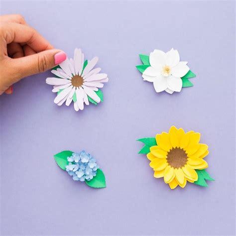 Blumen Zum Basteln by Blumen Basteln 3 Anleitungen Und 30 Tolle Ideen Deko