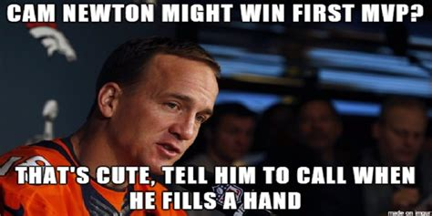 Peyton Manning Meme Superbowl - super bowl 50 battle of memes peyton manning vs cam