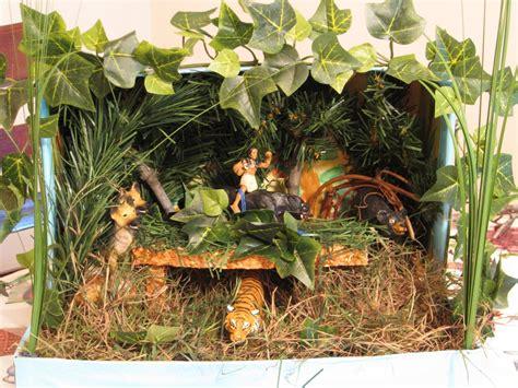 jungle book diorama jungle book diorama jungle scene