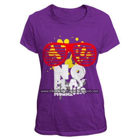 Kaos Cewek Tshirt Live Colourful desain distro kaos cewek desain kaos desain t shirt