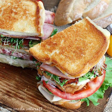 ham and turkey club sandwich recipe grilled california club sandwich national grilled cheese