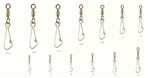 Rodford Hook On Snap Size 3 35 Kg Qty 8 Pcs swivel and snap hook make from brass barrel or crane type
