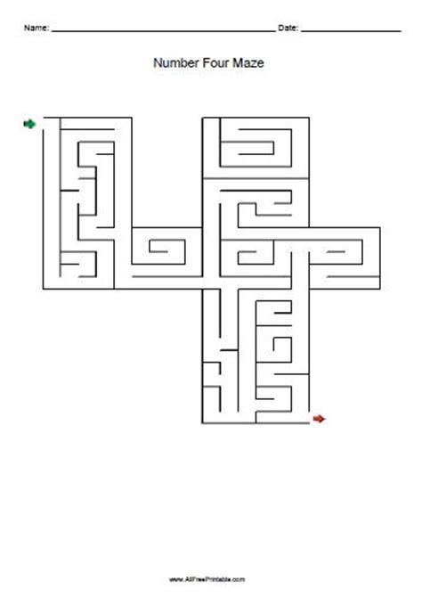 free printable number maze number mazes free printable allfreeprintable com