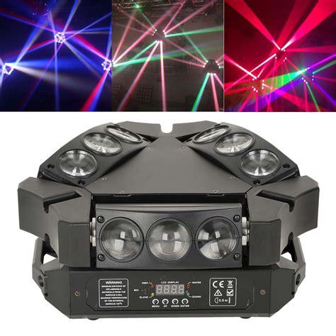 9x3w Rgb Led Spider Dmx Moving Head Light Bar Ktv Dj Disco