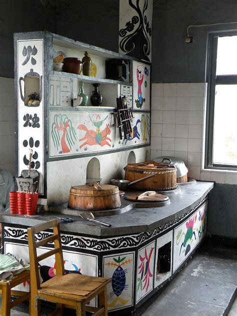 a traditional kitchen corner photograph by jiayin ma