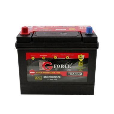 Jual Alarm Mobil G Forces jual g titanium ns70 mf aki mobil harga kualitas terjamin blibli
