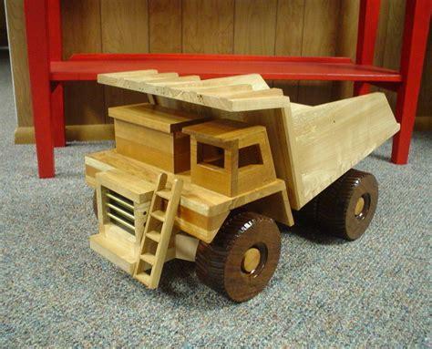 wooden dump truck  woodcut  lumberjockscom
