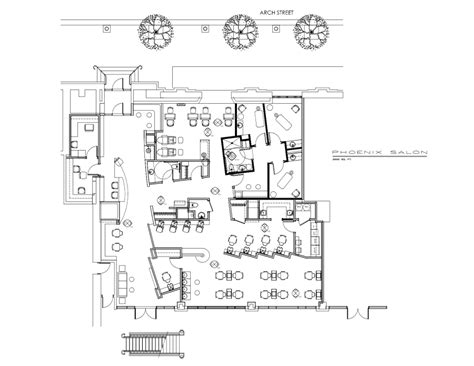 salon floor plan maker restaurant floor plans sle hair salon plan maker best