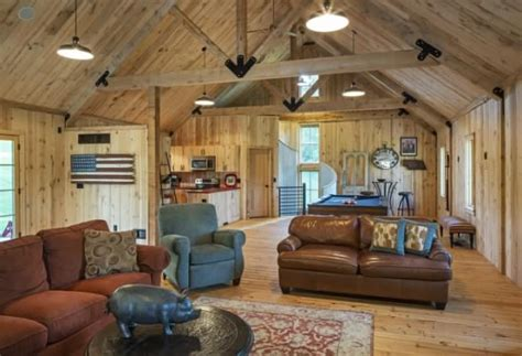 cozy barn style home cozy homes life