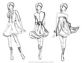 sketches fashions movement detail in fashion sketch