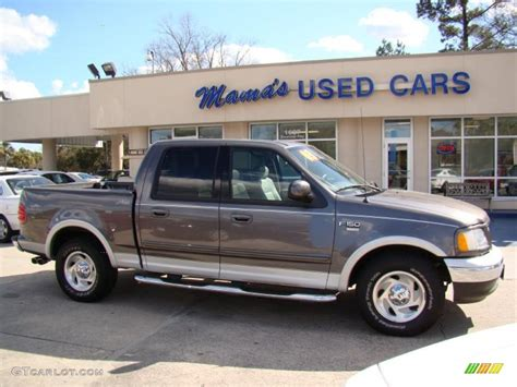 Ford F150 2003 by 2003 Shadow Grey Metallic Ford F150 Lariat Supercrew