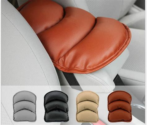 car seat covers with armrest holes car armrests cover pad vehicle center console arm rest