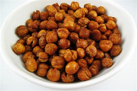 snack recipes spicy chickpeas 1000 days