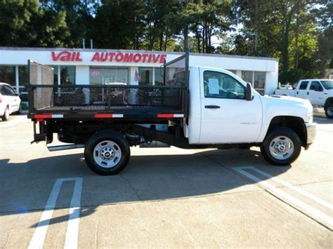 find used 2011 chevrolet 2500hd landscape flatbed truck in