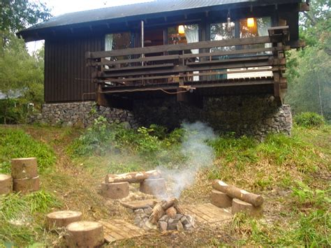Cheap Log Cabins To Rent In Scotland by Loch Aweside Forest Cabins Visitscotland