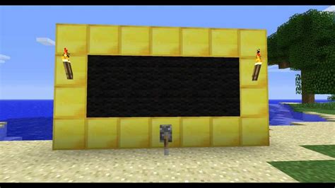 how to build a tv minecraft how to make a working tv in 1 8 1 without