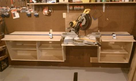chop saw bench plans 187 download workbench plans with miter saw pdf workbench