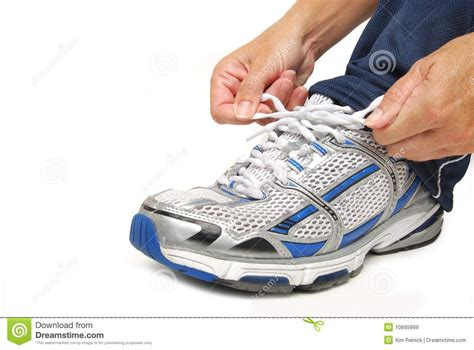 tie the shoe royalty free stock images image 10895999