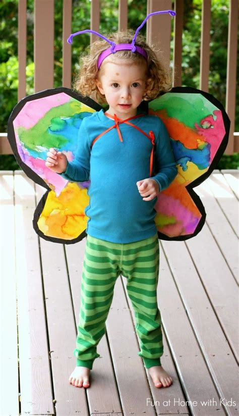 Handmade Butterfly Costume - fancy dress archives crafts