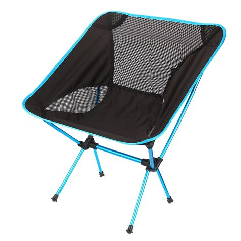 hot sale lightweight folding camping stool seat chair  colors portable hiking chair  fishing