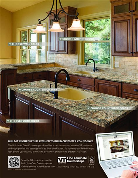 3d Laminate Countertops by Vt Industries Laminate Countertops 3d Visualizer Ad