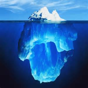 Tip of the iceberg spirituality formation counseling services
