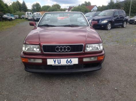 Audi Lindau by Verkauft Audi Cabriolet 2 0 Gebraucht 1996 199 900 Km In