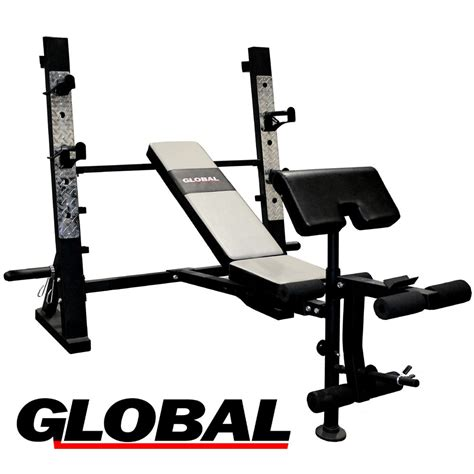 just bench press global gw10 olympic weight bench press
