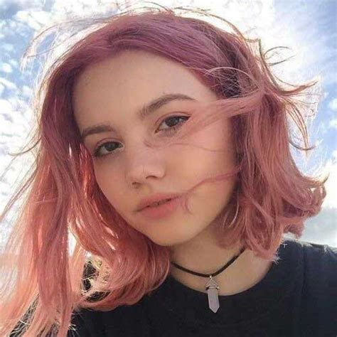 hair styles for light hair tumblr style pale pink short hair colors short