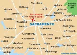 sacramento california map sacramento travel guide and tourist information